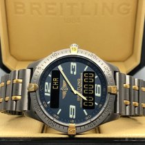 Breitling Aerospace Titan 40mm Plav-modar Arapski brojevi