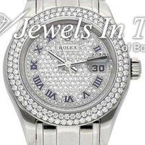 Rolex Lady-Datejust Pearlmaster 80339 2009 подержанные