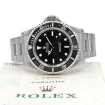 Rolex Submariner (No Date) Acero 40mm Negro Sin cifras