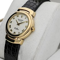 Rolex Cellini Žluté zlato 33mm Bílá Římské