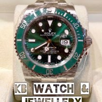Rolex Submariner Date Steel 40mm Green No numerals Singapore, singapore