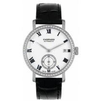 Chopard White gold Automatic White No numerals 38mm pre-owned Classic