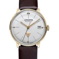 Junkers Bauhaus Gold/Steel 35mm Silver