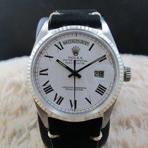 勞力士 (Rolex) DAY-DATE 1803 18K White Gold with Original White...
