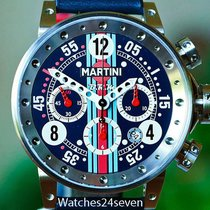 B.R.M Automatic Chronograph Martini Special Edition Blue Dial...
