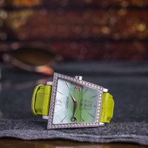 Corum Ladies' Trapeze Green Mother of Pearl/Diamonds