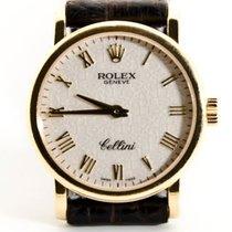 Rolex Cellini Geelgoud 26mm Wit Romeins Nederland, 'S-Hertogenbosch