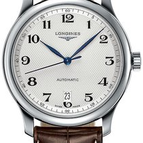 Longines Master Collection Steel 38.5mm Silver United States of America, New York, Airmont
