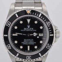 Rolex Sea-Dweller Triple 6 Black Dial Bezel Oyster Steel