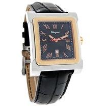 Salvatore Ferragamo Palagio Mens Swiss Quartz Watch F58LBQ9509...