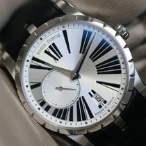 Roger Dubuis Excalibur 42mm silver dial perfect condition