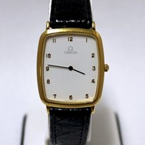 Omega DeVille Gold Plated Stainless Steel