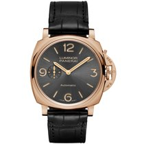 Panerai Rose gold Automatic Arabic numerals 45mm new Luminor Due