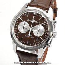 Bell & Ross Vintage Stahl 41mm Braun Deutschland, Teuschnitz