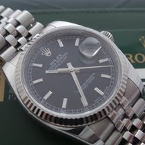 Rolex Datejust Ref.116234 Box&paper 2010 Card Black