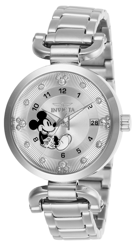 Invicta Women s 27290 Disney Quartz 3 Hand Silver Dial Watch for  135 for  sale from a Seller on Chrono24 dc4e7d438
