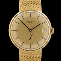 Patek Philippe 3514 Yellow gold Calatrava 34mm pre-owned