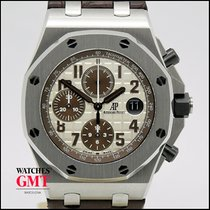 Audemars Piguet Royal Oak Offshore Chronograph Acero 42mm Blanco Sin cifras España, BARCELONA