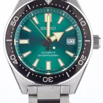 Seiko Prospex Steel 42.6mm Green United States of America, Illinois, BUFFALO GROVE