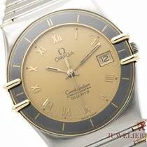 Omega Constellation Quartz Acero y oro 34mm