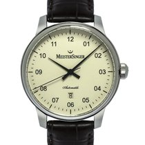 Meistersinger Steel 43mm Automatic AM2203 new