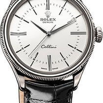 Rolex Cellini Time Witgoud 39mm Wit