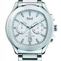 Piaget Polo S Staal 42mm Zilver Geen cijfers Nederland, Amsterdam