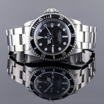 Rolex Sea-Dweller Acciaio 40mm Nero Senza numeri