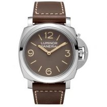Panerai Special Editions Steel 47mm Brown Arabic numerals United States of America, Pennsylvania, Holland