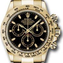 Rolex Daytona 116508 Αφόρετο Κίτρινο χρυσό Αυτόματη