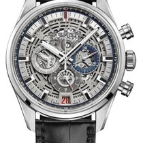 Zenith El Primero Chronomaster Steel 42mm Transparent United States of America, New York, Airmont