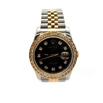 Rolex Datejust Watch with Factory Diamond Dial  and Bezel