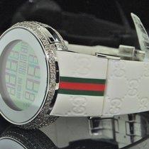 e8a714987be Gucci Mens Diamond Gucci Watch I Gucci Digital White Band... for ...