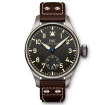 IWC Big Pilot novo Corda manual Relógio com caixa e documentos originais IW510301