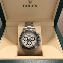 Rolex 116500LN Daytona Steel with Ceramic Bezel and White Dial