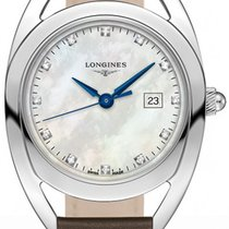 Longines Equestrian Steel 30mm Mother of pearl