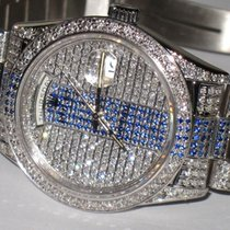 Rolex Day-Date 36 Oro blanco 36mm Sin cifras