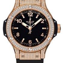 Hublot Big Bang 38 mm neu Quarz Uhr mit Original-Box und Original-Papieren 361.PX.1280.RX.1704