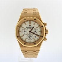 Audemars Piguet Royal Oak Chronograph White face chronograph
