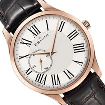 Zenith Rose gold Automatic 40mm new Elite Ultra Thin