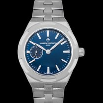 Vacheron Constantin Overseas Chronograph Steel 37.00mm Blue United States of America, California, San Mateo