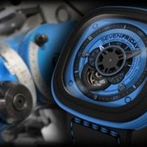 Sevenfriday Automatic 2010 pre-owned P1-4 Blue