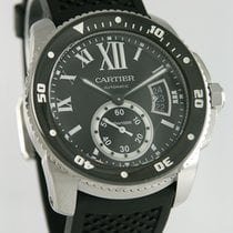 Cartier Calibre de Cartier Diver begagnad 42mm Stål
