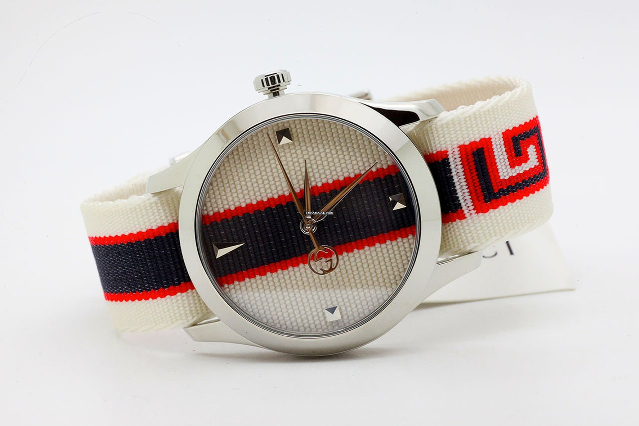 ee9a9c51047 Gucci G-Timeless 38mm Quartz Gucci YA1264071 G for  722 for sale from a  Trusted Seller on Chrono24