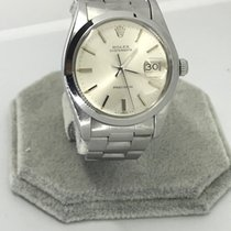 Rolex Oyster date Precision Steel Silver dial 1977 Ref:6694...