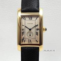Cartier Tank Américaine gebraucht 40.5mm Gelbgold
