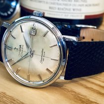 Omega Seamaster De Ville Crosshair Patina Dial mens vintage watch