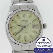 Rolex Oyster Precision Steel 34mm Silver United States of America, New York, Huntington