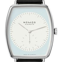 NOMOS White gold 41mm Manual winding 920 new