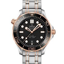 Omega 210.20.42.20.01.001 Gold/Steel 2019 Seamaster Diver 300 M 42mm new United States of America, Iowa, Des Moines